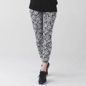Lululemon geometric rose leggings